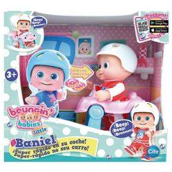 Műanyag babák - Bouncin Babies Szuper gyors sétáló Baniel baba