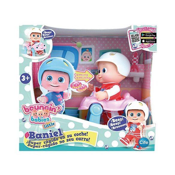 25c982c6af Műanyag babák - Bouncin Babies Szuper gyors sétáló Baniel baba