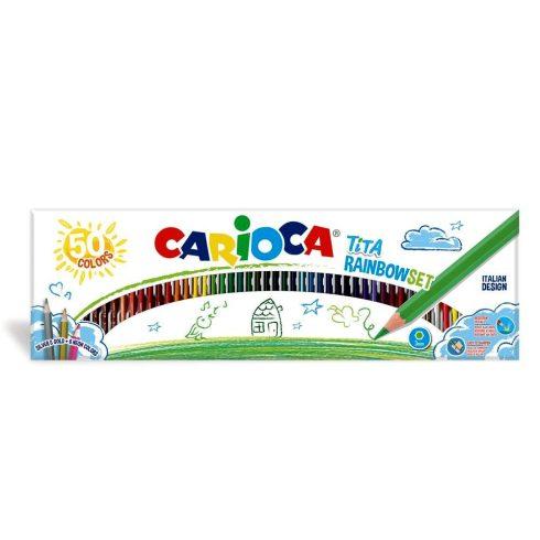 Színes ceruza készlet - Carioca tita színes ceruzák 50 db