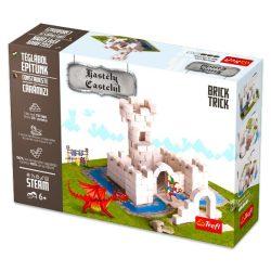 Építőjátékok gyerekeknek - Brick trick Téglából építünk Kastély építőjáték