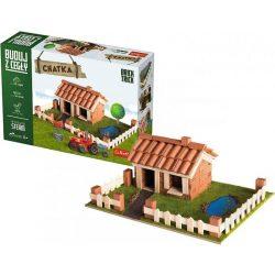 Építőjátékok gyerekeknek - Brick Trick Téglából építünk Vidéki ház építő játék Trefl
