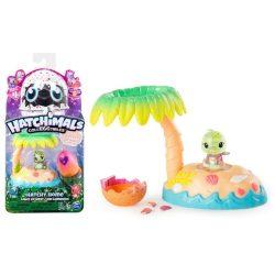 Gyűjthető figurák - Hatchimals CollEGGtibles: Breezy Beach játékszett