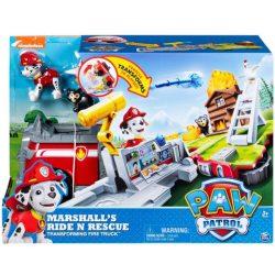 Mancs őrjáratos játékok -  Marshall Ride N Rescue járgánya Spinmaster