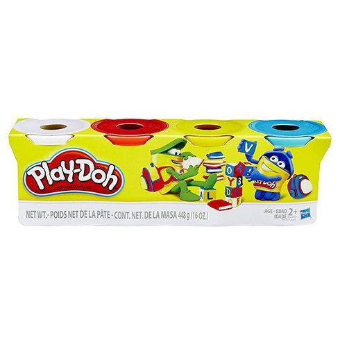 Play-Doh: Klasszikus színek 4db-os gyurmaszett - Hasbro játék vásárlás