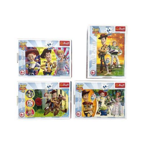 Puzzle gyerekeknek - Toy Story 4, Boldog Játékok mini puzzle, 54 db Trefl