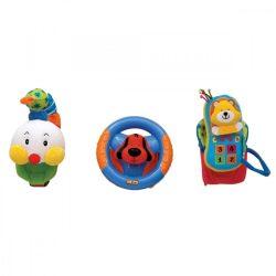 Fejlesztő játékok - Foglalkoztató játékok - Boldog trió bébijáték