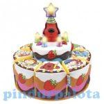 Fejlesztő játékok - Zenélő játékok - Éneklő plüss szülinapi torta - Ks Kids