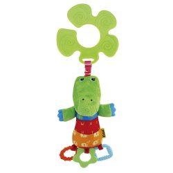 Fejlesztő bébi játékok - Ks Kids CrocoBloco babakocsi pajtás