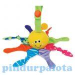 Fejlesztő játékok babáknak - Ks Kids Kis polip plüss pajtás