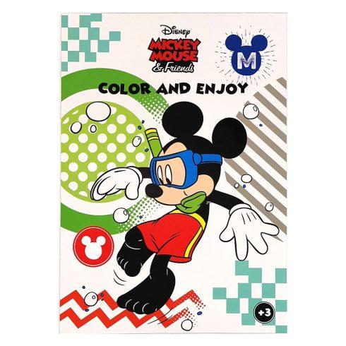 Foglalkoztató füzetek - Színezők - Disney Mickey Egér színező - Kiddo