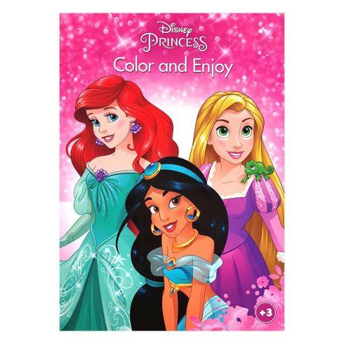 Foglalkoztató füzetek - Színezők - Disney Hercegnők színező Kiddo