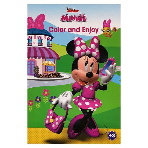 Foglalkoztató füzetek - Színezők - Disney Minnie Egér színező mintával - Kiddo
