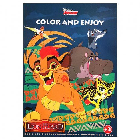 Foglalkoztató füzetek - Színezők - Disney Oroszlánőrség színező mintával Kiddo