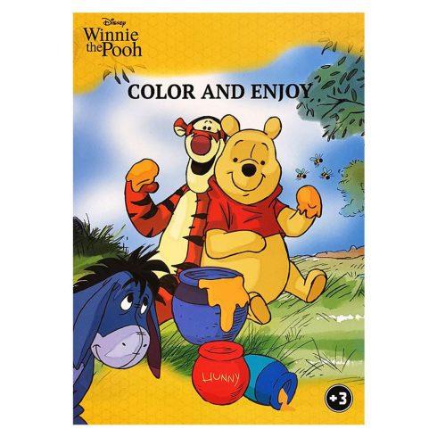 Foglalkoztató füzetek - Színezők - Disney Micimackó színező mintával - Kiddo