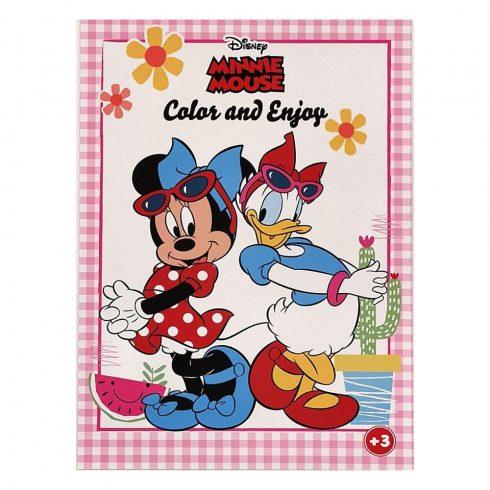 Foglalkoztató füzetek - Színezők - Disney Minnie Egér színező Kiddo