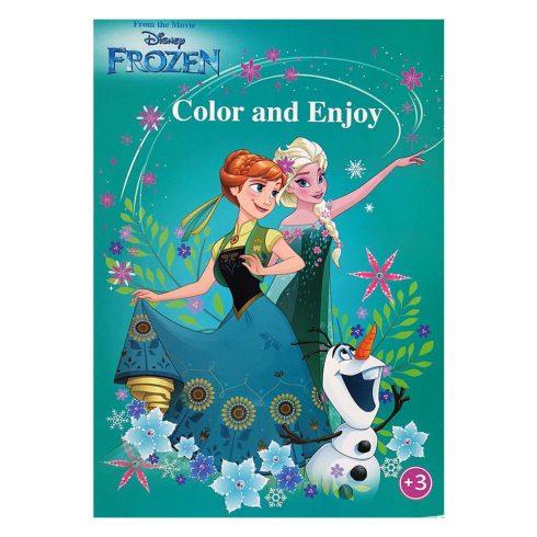 Foglalkoztató füzetek - Színezők - Disney Jégvarázs színező - Kiddo