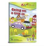 Foglalkoztató füzetek - Varázsszínező, Pontról pontra, Utazás, Kiddo Books