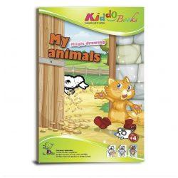 Foglalkoztató füzetek - Varázsszínező állatokkal, Kiddo Books