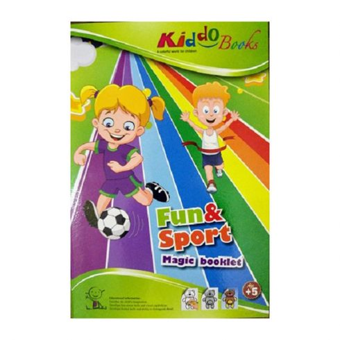 Iskolaelőkészítő foglalkoztató füzetek - Varázs színező - Móka és Sport téma Kiddo