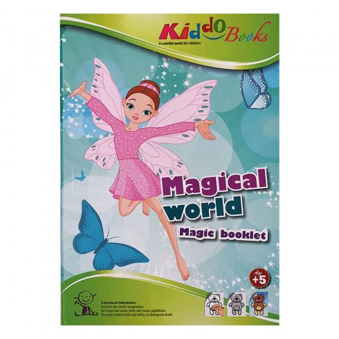 Iskolaelőkészítő foglalkoztató füzetek - Varázs színező - Magical World Kiddo