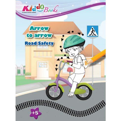 Iskola előkészítő foglalkoztató füzetek - Lépésről lépésre Biztonságos közlekedés Kiddo Books ÚJ
