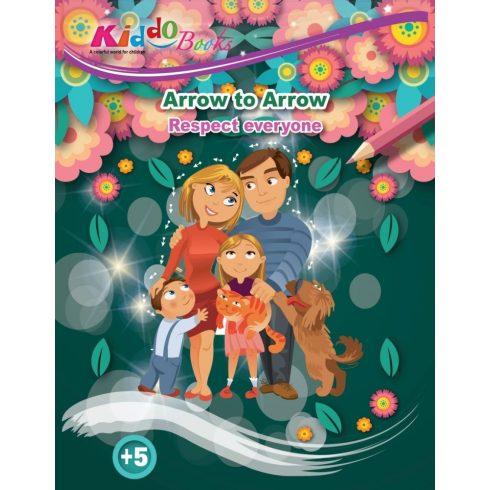 Iskola előkészítő foglalkoztató füzetek - Lépésről lépésre színező - Respect - Kiddo Books