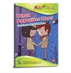Foglalkoztató füzetek - Ellentétek találkozása, Színező füzet ovisoknak, Kiddo Books