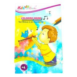 Iskola előkészítő foglalkoztató füzetek - Szinezz és zenélj, fejlesztő füzet Kiddo Books