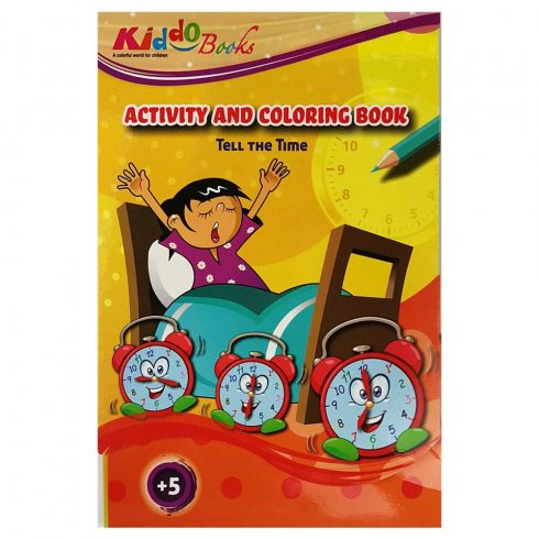 Iskolaelőkészítő foglalkoztató füzetek - Játékos óra tanulás - Fejlesztő feladatok - Kiddo