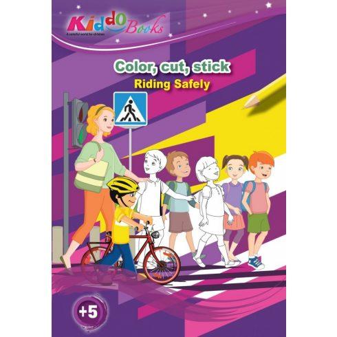 Iskola előkészítő foglalkoztató füzetek - Közlekedj okosan foglalkoztató füzet Kiddo Books ÚJ