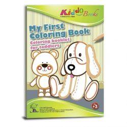 Foglalkoztató füzetek - Színező tipegő, Első színező könyvem, Kiddo Books