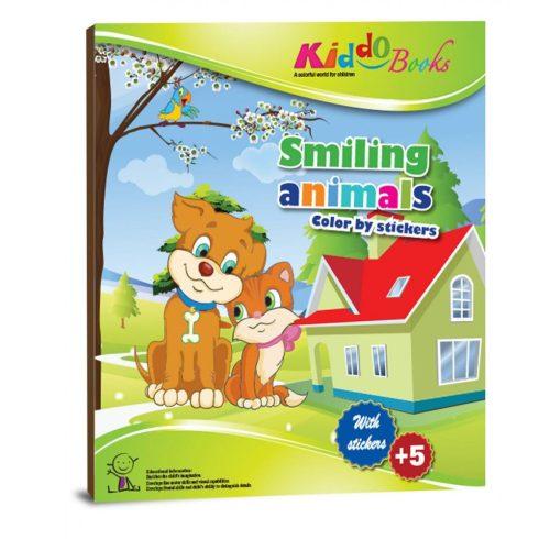 Foglalkoztató füzetek - Állatos színező matricákkal - Kiddo
