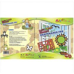 Foglalkoztató füzetek - Készíts virágokat, sablonos foglalkoztató, Kiddo Books
