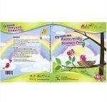Foglalkoztató füzetek - Matricás színező füzet, Repülés, Kiddo Books