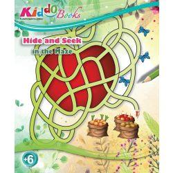 Iskola előkészítő foglalkoztató füzetek - Bújocska a labirintusban Kiddo Books ÚJ