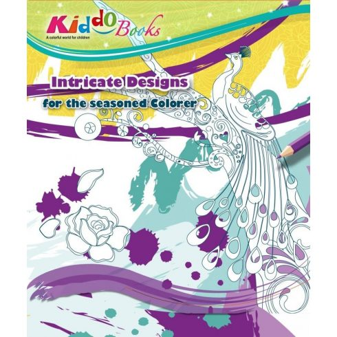 Felnőtt színezők -Varázslatos Világok - Felnött színező - Kiddo Books