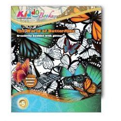 Iskola előkészítő foglalkoztató füzetek - Pillangók világa foglalkoztató Kiddo Books