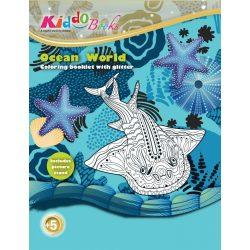 Iskola előkészítő foglalkoztató füzetek - Oceánok világa foglalkoztató Kiddo Books