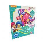 Foglalkoztató füzetek - Shimmer & Shine, 3D Képkészítő, Kiddo