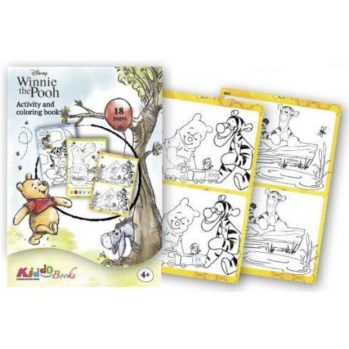 Iskola előkészítő foglalkoztató füzetek - Micimackó foglalkoztató füzet Kiddo Books
