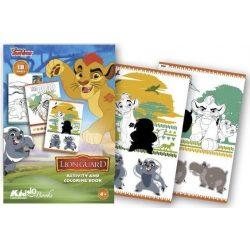 Iskola előkészítő foglalkoztató füzetek - Oroszlán Őrség foglalkoztató Kiddo Books
