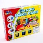 Kreatív Hobby - Gyurmák - Kids Autó és benzinkút gyurmakészlet