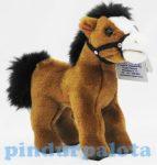 Plüss ló - Ló zablával 22,8 cm