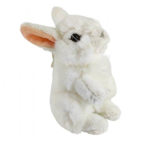 Plüssök - Állatok - Plüss álló nyuszi fehér