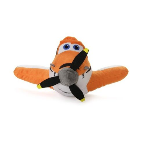 Disney Repcsik plüssök - Rozsdás - Dusty - 25cm narancs
