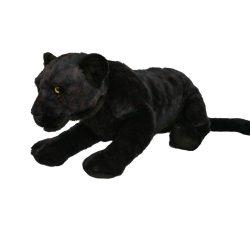 Plüss állat - Fekete párduc, 56 cm