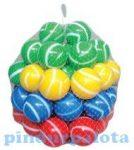 Kerti játékok - Medencefeltöltő labdák, csíkos