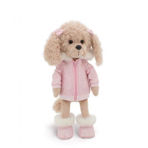 Lucky Doggy Dolly pluss kutya alpesi ruhában Orange Toys puha plüss