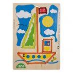 Készségfejlesztő - Fűzős játékok - Lena hajós fűzős játék
