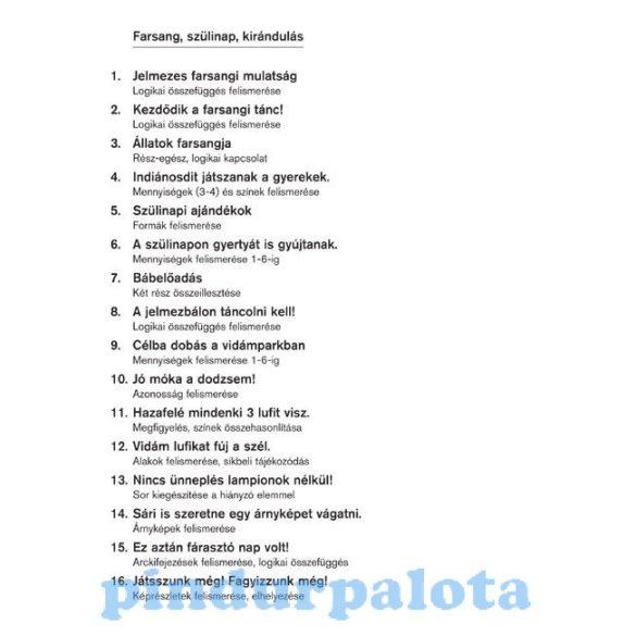 Készségfejlesztő - Logikai - Logico Primo Farsangi szülinap kirándulás
